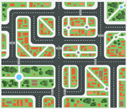 Plan city vector illustration