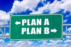 Plan concept sign Royalty Free Stock Photos