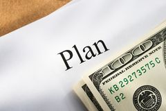 Plan conception Stock Images