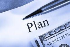Plan conception Royalty Free Stock Photos