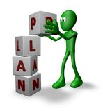 Plan construction Stock Images