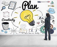 Plan Creativity Business Ideas Concept Royalty Free Stock Photo