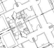 Plan d'étage illustration stock
