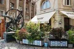Plan d'étude du centre de Bucarest Photographie stock