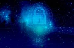 Plan d'étude et conception sur la protection et la sécurité des données d'Internet utilisant des technologies d'intelligence
