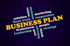 Plan d'action, concept stratégique, succès de composants Images stock