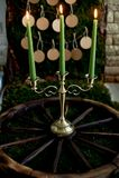 Plan d'allocation des places, décor de mariage dans le style rustique Mousse, écorce, bois, ouvrant des cartes Le chandelier sur  photographie stock libre de droits