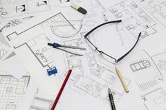 Plan d'appartement Image libre de droits