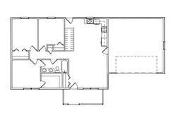 Plan d'architecture dans la vue supérieure Photo stock
