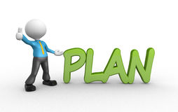 Plan Stock Photo