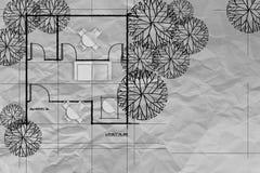 Salon et cuisine modernes avec le balcon photo stock for Livre sur le minimalisme