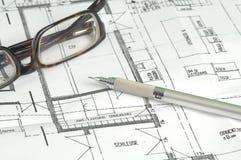 Plan de construction Images libres de droits
