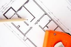 Plan de décoration intérieur à la maison Photos stock