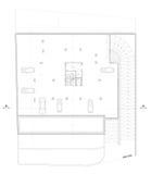 Plan de estacionamiento arquitectónico Foto de archivo