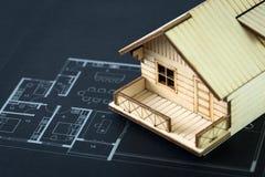 Plan de la casa Imagen de archivo