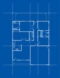 Plan de la casa Imagen de archivo libre de regalías