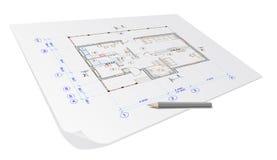 Plan de la casa de la configuración
