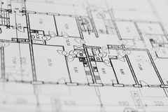 Plan de la configuración foto de archivo