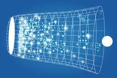 Plan de la physique, de la chimie et de la géométrie sacrée Images libres de droits