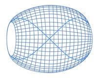 Plan de la physique, de la chimie et de la géométrie sacrée Photographie stock libre de droits