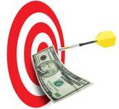 Plan de las ventas del asunto de la comercialización Foto de archivo libre de regalías