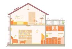 plan de maison illustration libre de droits