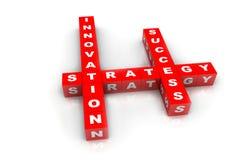 Plan de réussite d'innovation Photos stock