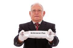 Plan de retiro Fotografía de archivo libre de regalías