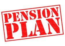 Plan de retraite de retraite Image libre de droits