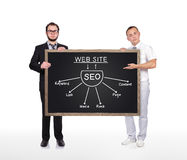 Plan de Seo Images stock
