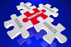 Plan de tachymètre d'exécution de stratégie de vision de transition illustration de vecteur