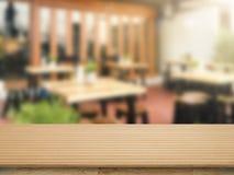 plan de travail en bois Images stock