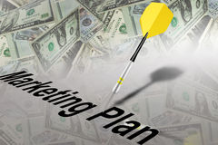 Plan de ventes d'affaires de vente Images stock