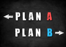 Plan decision Stock Photography