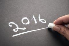 Plan del año Foto de archivo