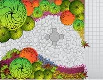Plan del paisaje Imagen de archivo libre de regalías