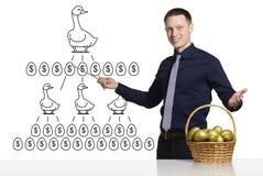 Plan des affaires réussies image stock