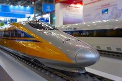 Plan des Hochgeschwindigkeitszuges lizenzfreie stockfotografie