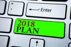 Plan des textes 2018 d'écriture de Word E Image libre de droits