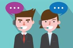 Plan design, telefonförsäljningbegreppsillustration Royaltyfri Bild