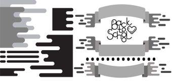 Plan designelemensuppsättning vektor illustrationer