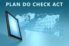 Plan Do Check Act Royalty Free Stock Photos