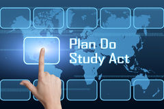Plan Do Study Act Royalty Free Stock Photography