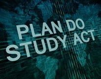 Plan Do Study Act Stock Photos
