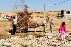 Plan du sud de cordon de l'Israël reconnu Photos libres de droits