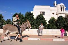 Plan du sud de cordon de l'Israël reconnu Photographie stock libre de droits