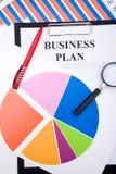 plan działalności gospodarczej obrazy stock