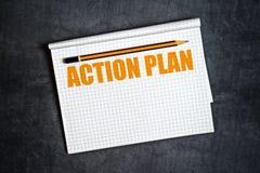 Plan Działania kopii przestrzeń Fotografia Stock