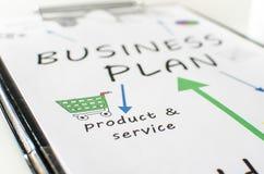 Plan empresarial Fotografía de archivo