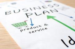 Plan empresarial Fotos de archivo